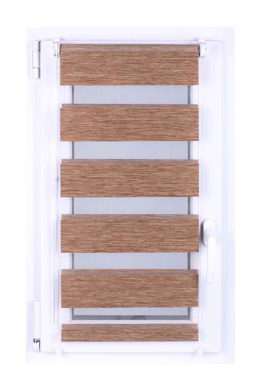 Roleta DEN&NOC Wood 42 x 150cm světle hnědá č. BH61 Macher