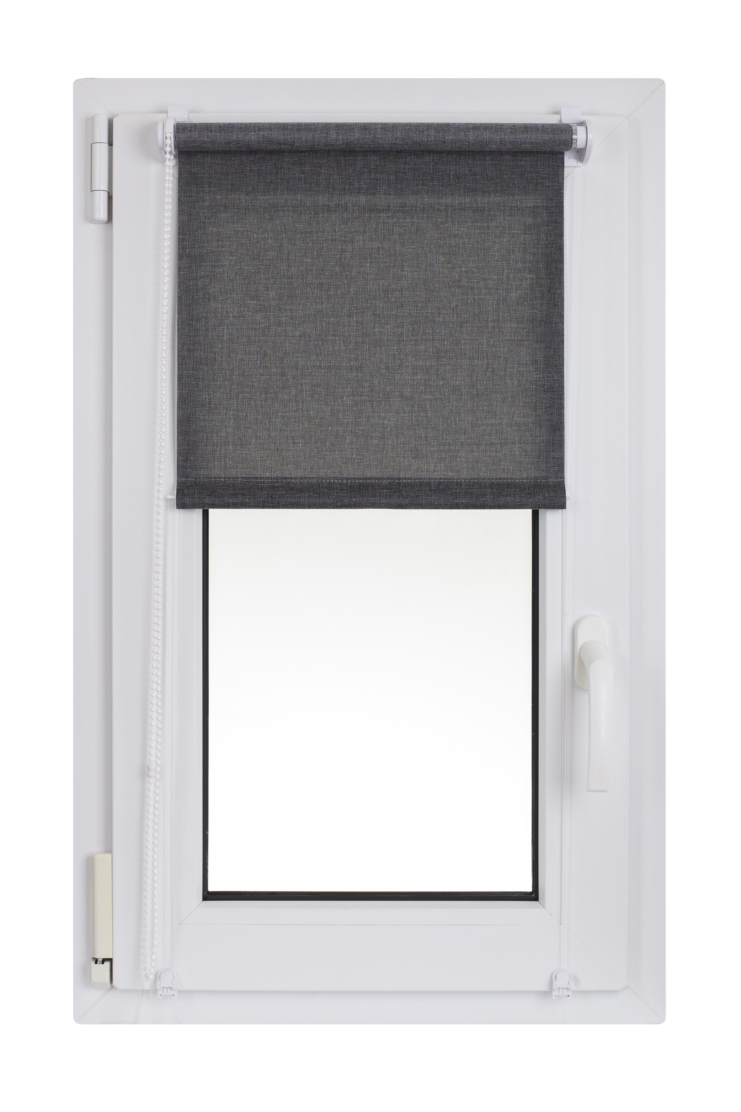 Roleta Madrid 42 x 150 cm tmavě šedá č. 866 Macher