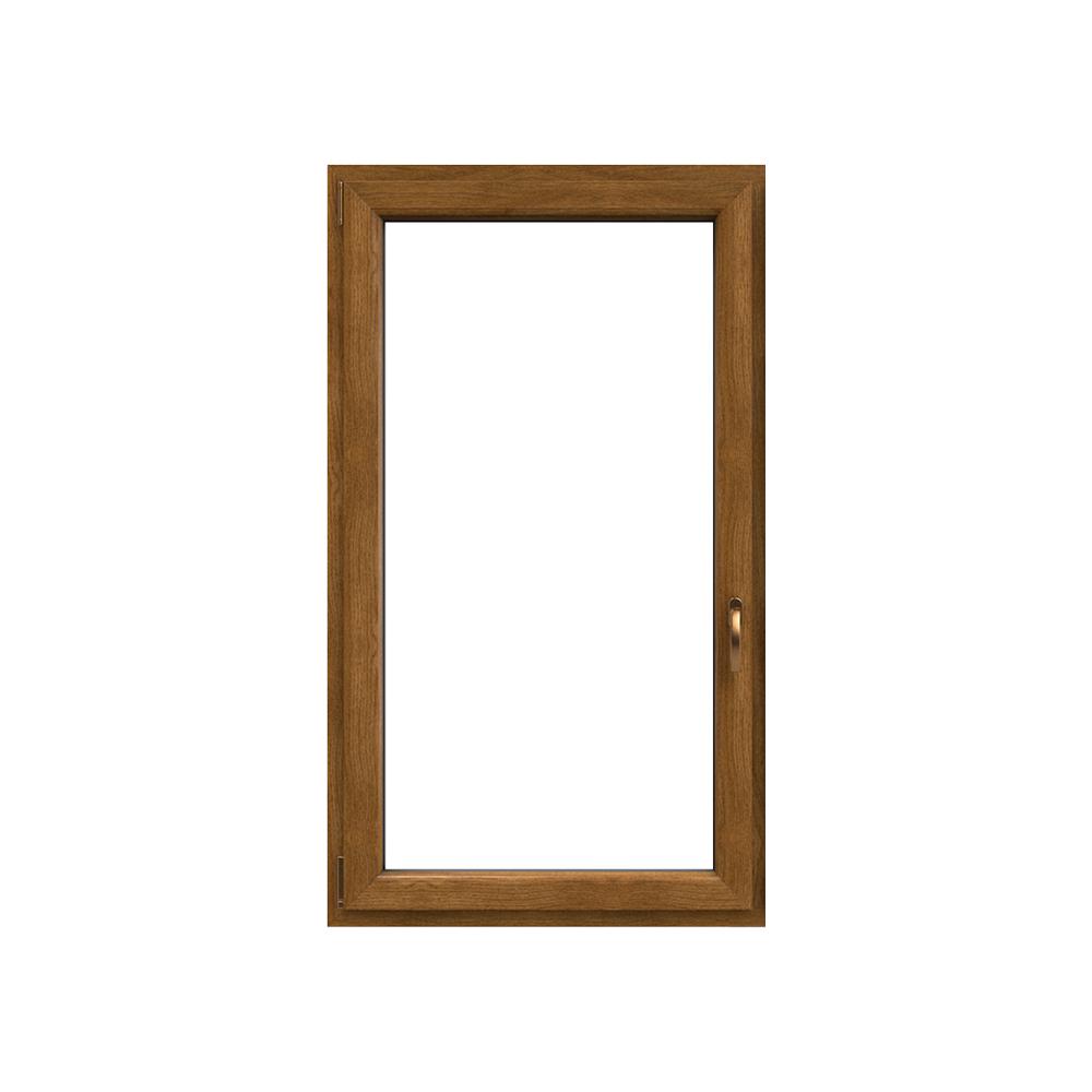 Okno plastové IGLO 5 bílé/winchester, OS1A 60x60 L, dvojskl, 5kom/70mm (vč.kliky)
