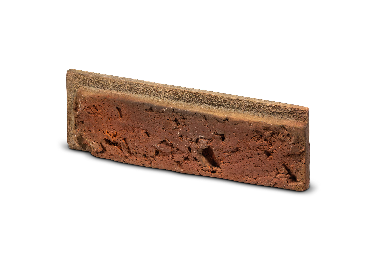 Cihlový obklad se spárou  ARICA 2 červená 227/73/20mm beton bal. 0,43m2