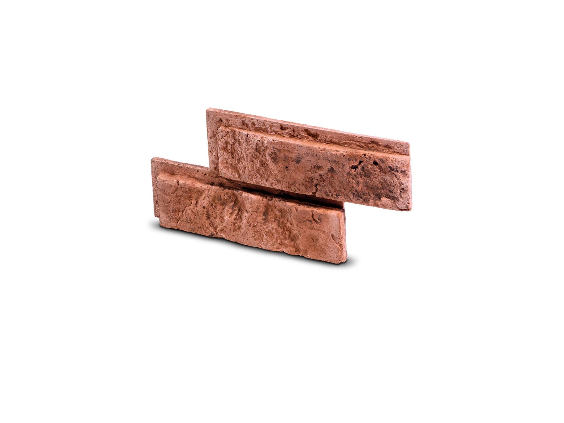 Cihlový obklad se spárou BOTIN červená 335x145x25 mm Sádra  balení 0,46m2