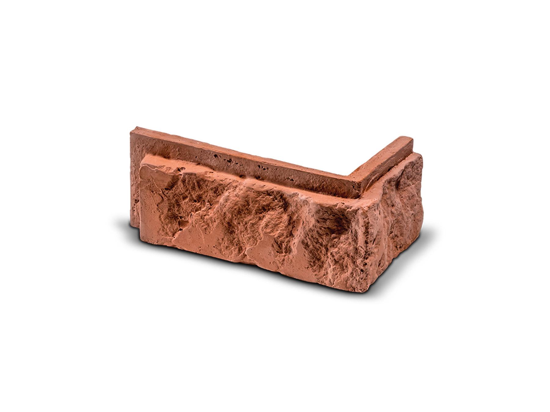 ROH Cihlový obklad se spárou BOTIN červená 160x80x75x25 mm Sádra  balení 0,75bm