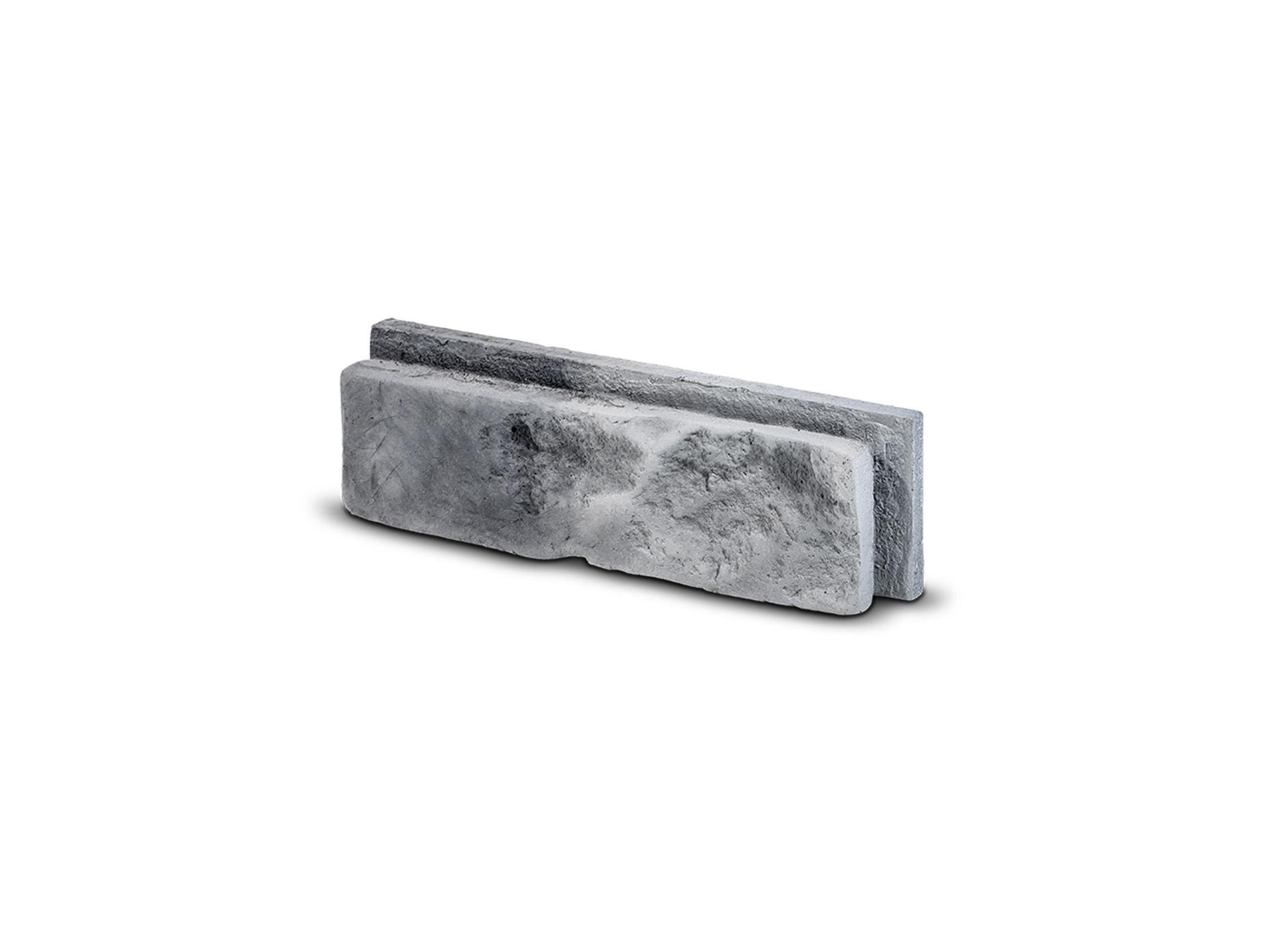 Cihlový obklad se spárou MODENA šedá 255x75x30 mm Beton balení 0,46m2