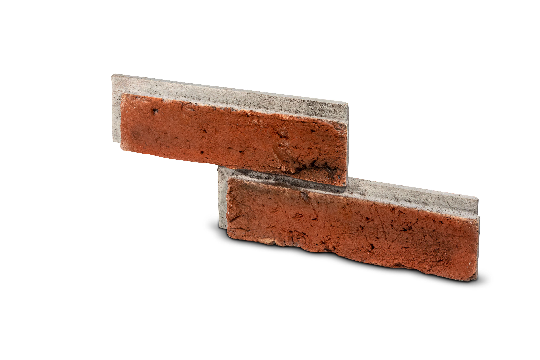 Cihlový obklad se spárou  TONO 2 červená 370/140/20mm beton bal. 0,42m2